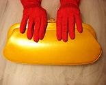 Oooh La La... LUSCIOUS BUTTERSCOTCH vintage Andrew Geller clutch handbag