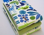 Set of 3 Burp Cloths - Alexander Henry 2-D Zoo Too Fabric