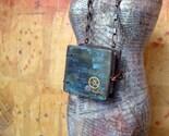 Book Necklace - Steampunk Sunken Treasure