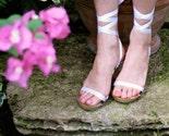 Size 5.5 - High Heel Lacewood Original Mohop Sandals