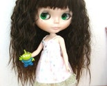 Blythe Brown Long Wavy Hair with Bangs