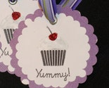 Yummy gift tags - Set of 6