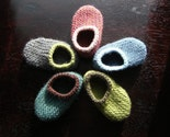 Design Your Own Wool Baby Slippers