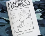 Color All Monsters coloring book / zine