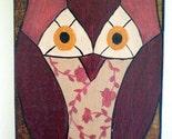 Owl on Wood ORIGINAL