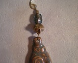 NEW 5 inch Christmas ornament  with Reiki hand pendant by the muddy muse