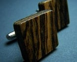 Bocote Wood Cufflinks