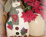 Dashing Vintage Christmas Snowman Twig Arms Handcrafted Handmade FREE SHIP