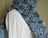 Knit Wool Scarf by Valerie's Gallery