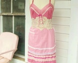 vintage apron slip dress