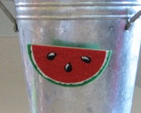 Watermelon Felt Clip