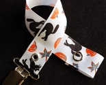 Scaredy Cat Halloween Pacifier Clip