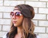 Leaf Headband - Chestnut Brown