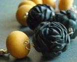 stinger bracelet - vintage lucite and sterling