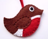 Little Robin ornament