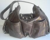 Femme Fatale Shoulder Bag - Dark Grey