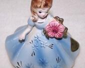 SALE Vintage Birthstone Figurine by Josef Originals - October