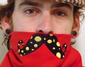 SALE- The RingMaster- Dotted FUNStache Bandana