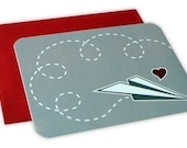 Love Is In The Air - Set of 5 Flat Cards
