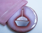 Birthday Cake Pocket Mirror