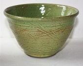 Green Prep or Serving Bowl