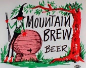 Hatfield and McCoy, Mountain Brew Beer Label