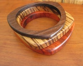 Exotic Wood Stacking Bangle Set - Size X-Small - Tiny Wrist