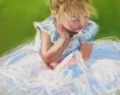 Little Ballerina ACEO Print