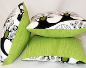 Green Eggs and Ham - Set of 3 Scatter Cushions