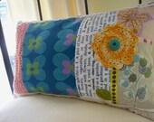 Spring Garden Collage Pillow