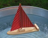 Red Mix it Up Sailboat