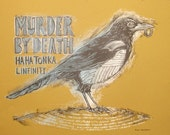 Murder by Death Tour Poster