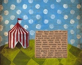 The Hilltop Circus--5x7 Print