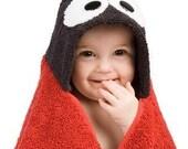 Lady Bug Hooded Towel
