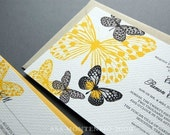 The Papillon Wedding Invitation Sample Set