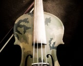 The Camo Violin a Fine Art Photograph
