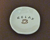 Relax coffee dish