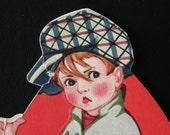 1920s Vintage Child's Diecut Valentine Greeting Card