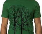 Cool Tree Tee MENS Graphic Tshirt Kelly Green