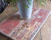 HUGE Tableboard WITH Feet from ANTIQUE Table Top Original Paint-SO FARMHOUSE PRIMITIVE