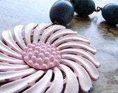 Sweeter than Sugar - vintage repurposed OOAK necklace