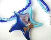 Pretty Starfish Necklace