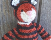 Tiger, Hand Knit, All Natural, Eco-Friendly, Meet Sumo
