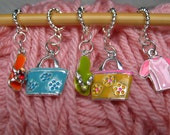 Summer Vacation Stitch Markers