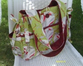 The 'Bijou' REVERSIBLE Diaper Bag - CUSTOM MADE from your favorite fabric