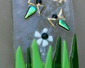 fused glass firefly nite light