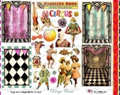 ViNtAgE CiRcUs  - Digital Collage Sheet (no 205)