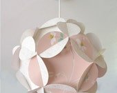 1970s style  Petal lampshade