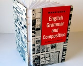 English Grammar and Composition - Coptic Stitched Sketchbook/Journal