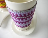 Grape Soda Cup and Saucer Set